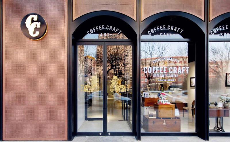 Coffee Craft 咖啡馆装修设计