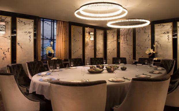 华尔道夫中餐厅装修设计