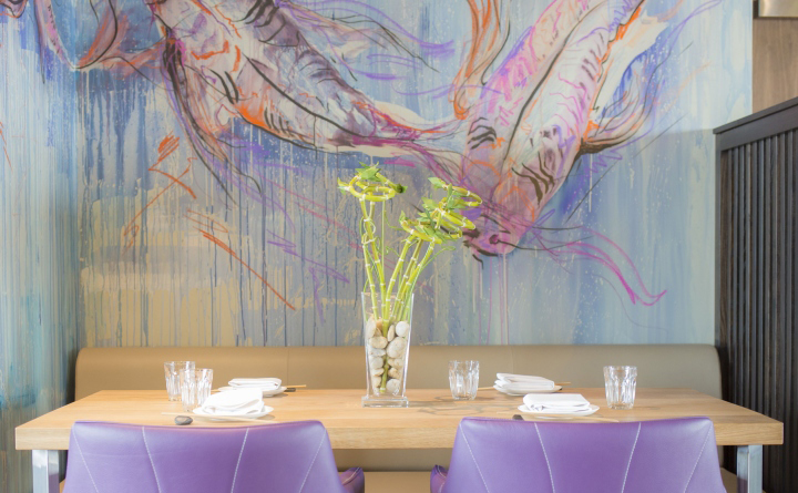创意日式餐厅装修设计