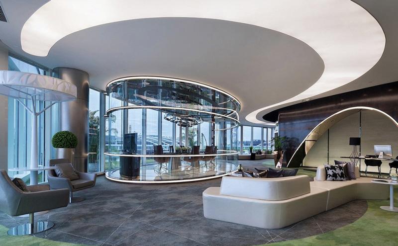 办公楼众创中心办公室装修