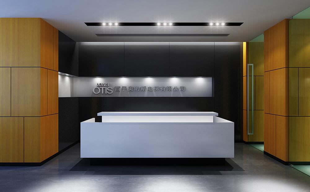 西子奥的斯电梯有限公司办公室装修