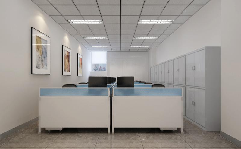谱尼测试办公室装修