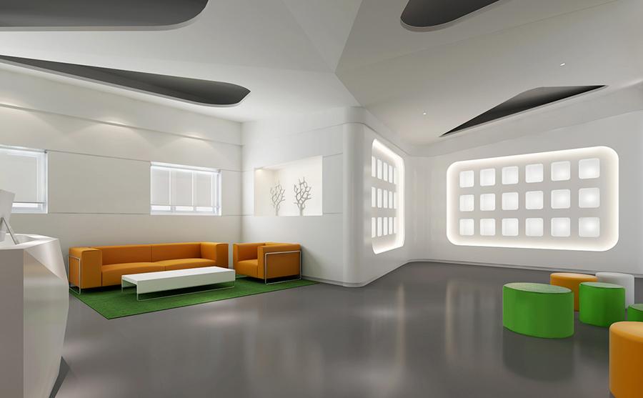 世纪天成科技有限公司办公室装修