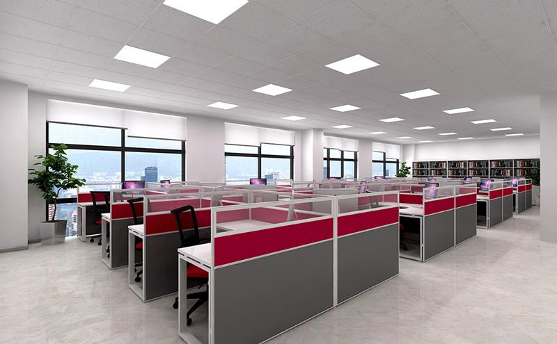 京城检测技术有限公司办公室装修