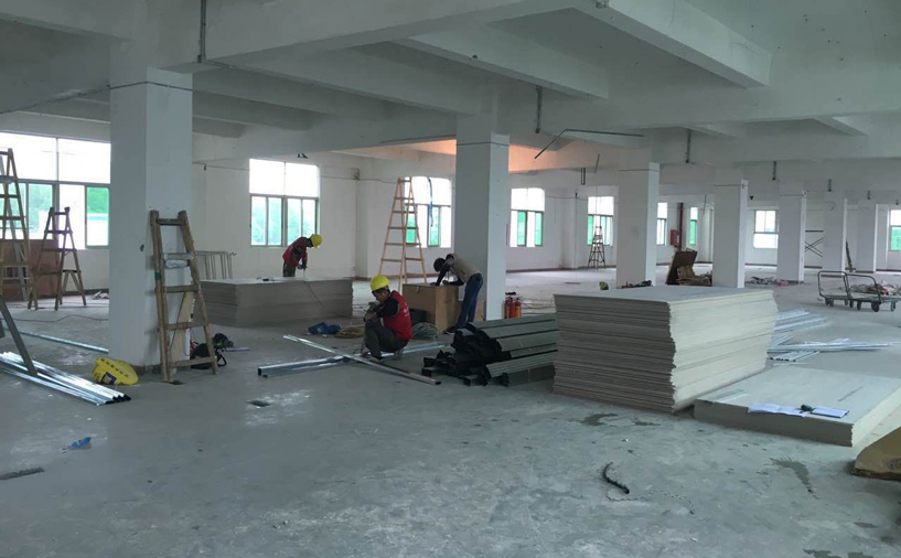 湖南36000平厂房装修