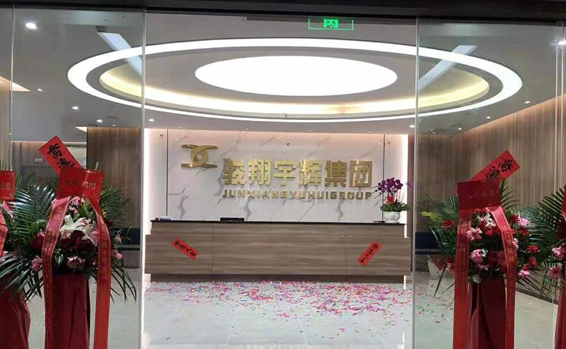 骏翔宇辉集团公司总部办公室装修