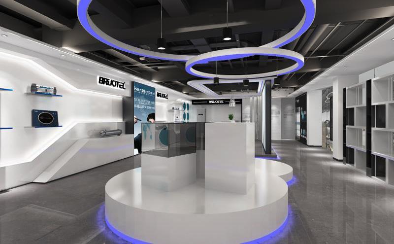 贝诺特净水器展厅装修设计