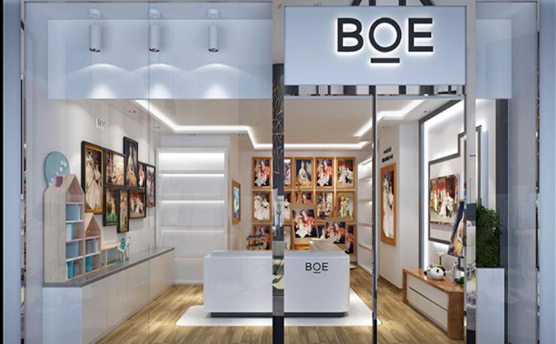 科技屏幕展厅BOE室内装饰工程