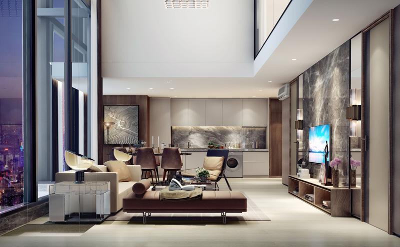 深城投酒店式公寓室内beplay体育网页版设计