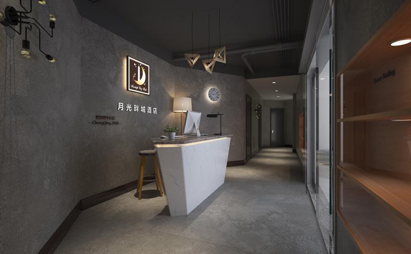 LOFT风格畔城主题酒店设计